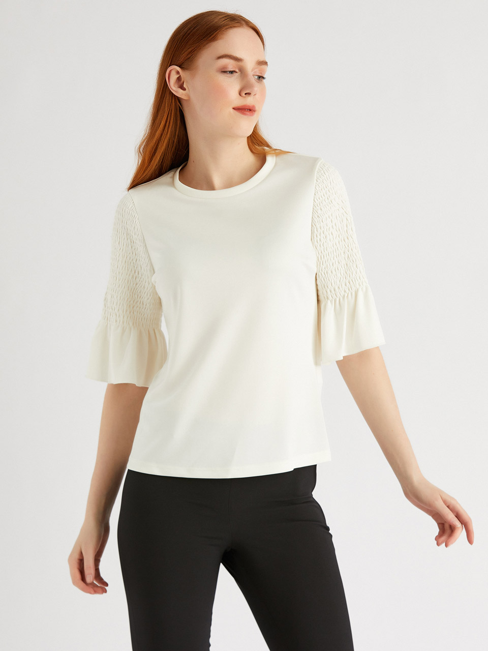 Cyling Collar blouise