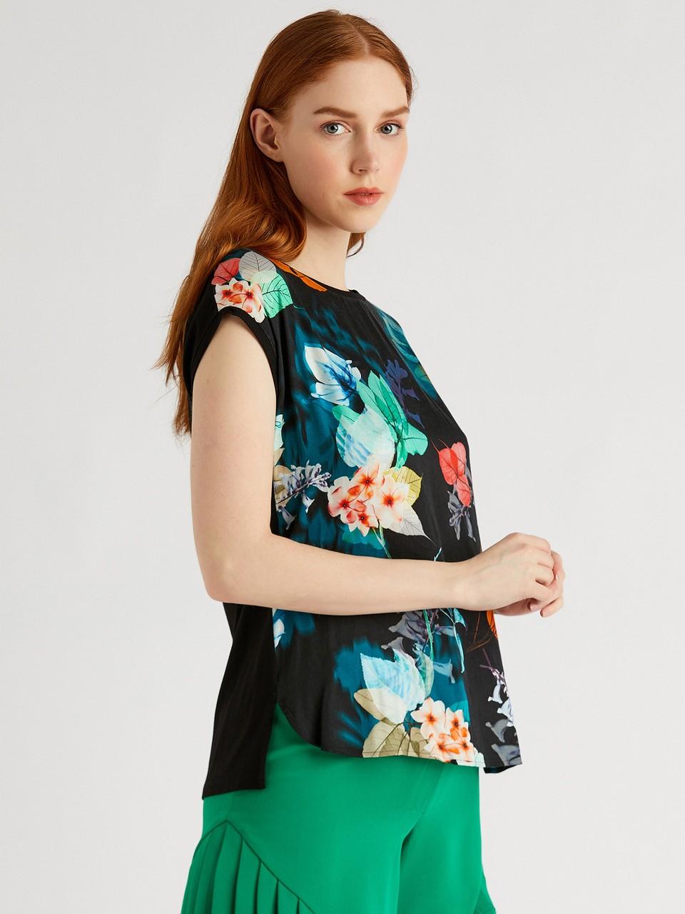 Floral Patterned Blouse