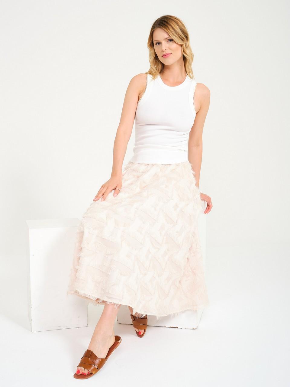 Tassel Detailed Bell Skirt