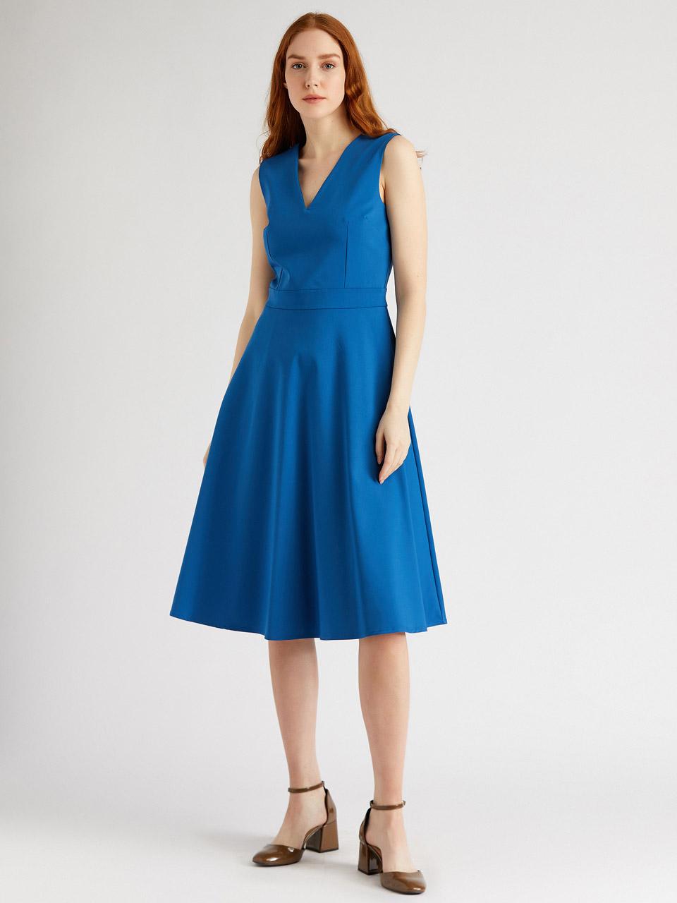V Neck Casual Dress