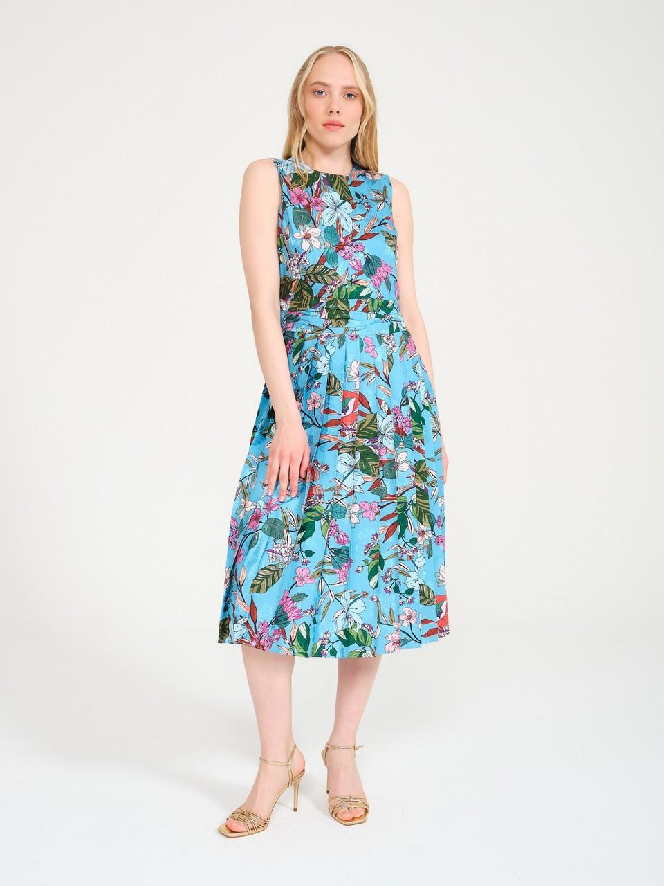 Pilise Detaylı Elbise