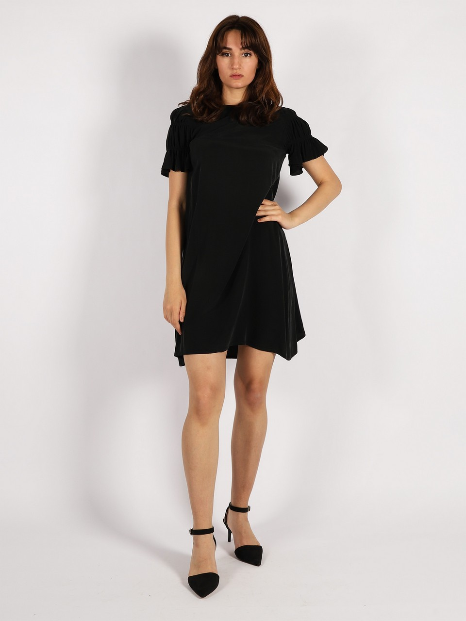 Relaxed Fit Cupra Dress