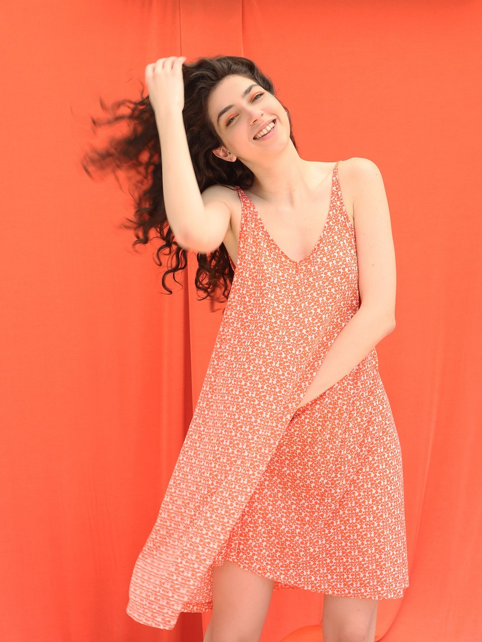 Strappy Casual Knitted Dress