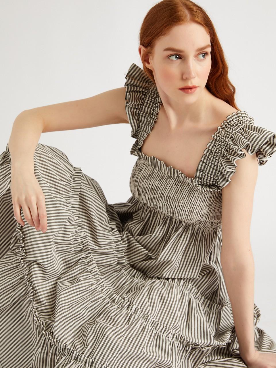 Strappy Giped Siesta Dress