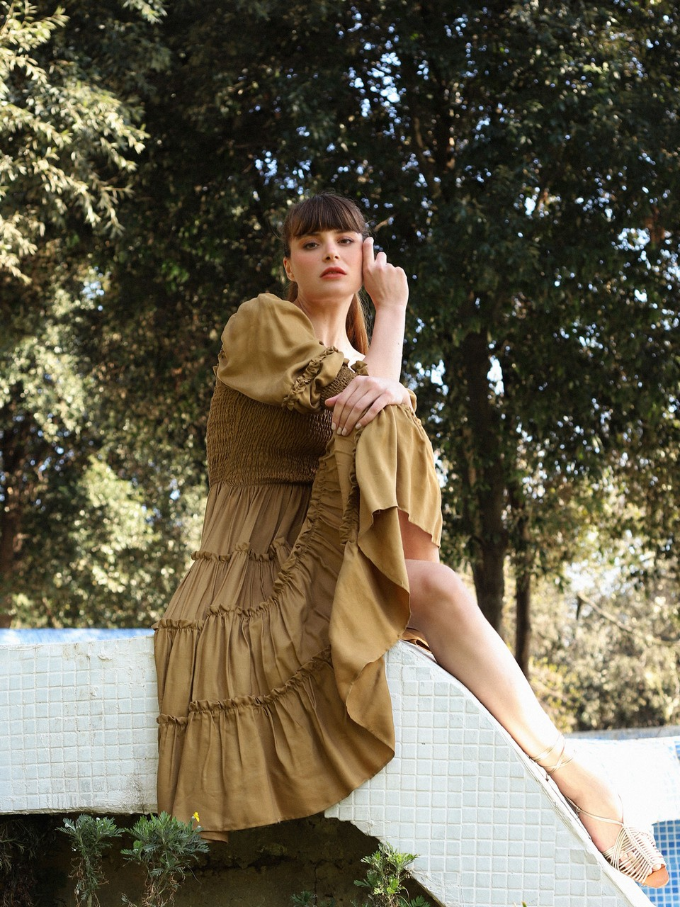 Relaxed Fit Giped Fiesta Dress