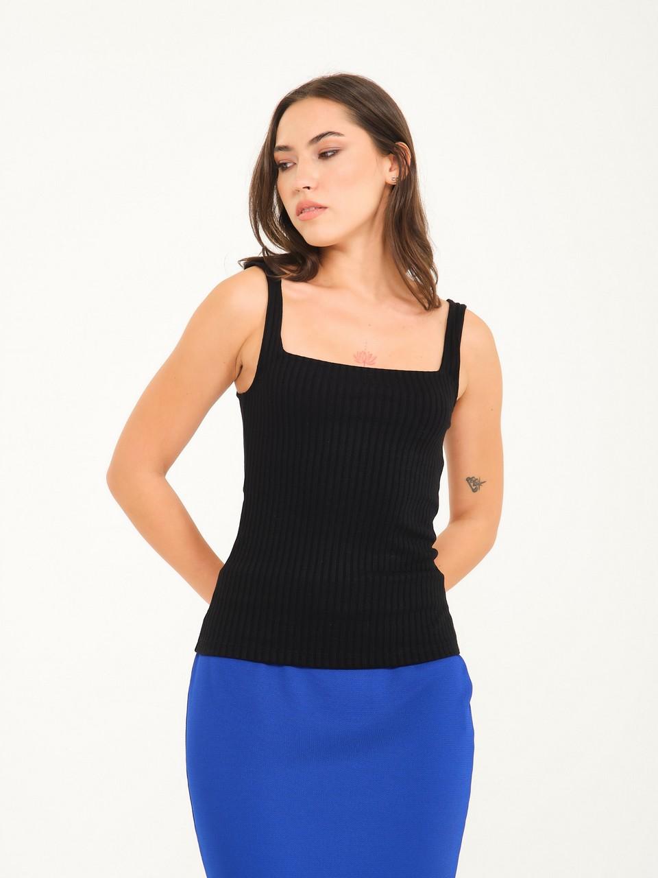 Square Neck Basic Undershirt