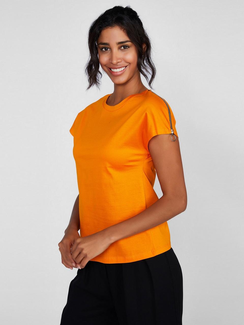 Sıfır Yaka Japone Kol Basic Bluz
