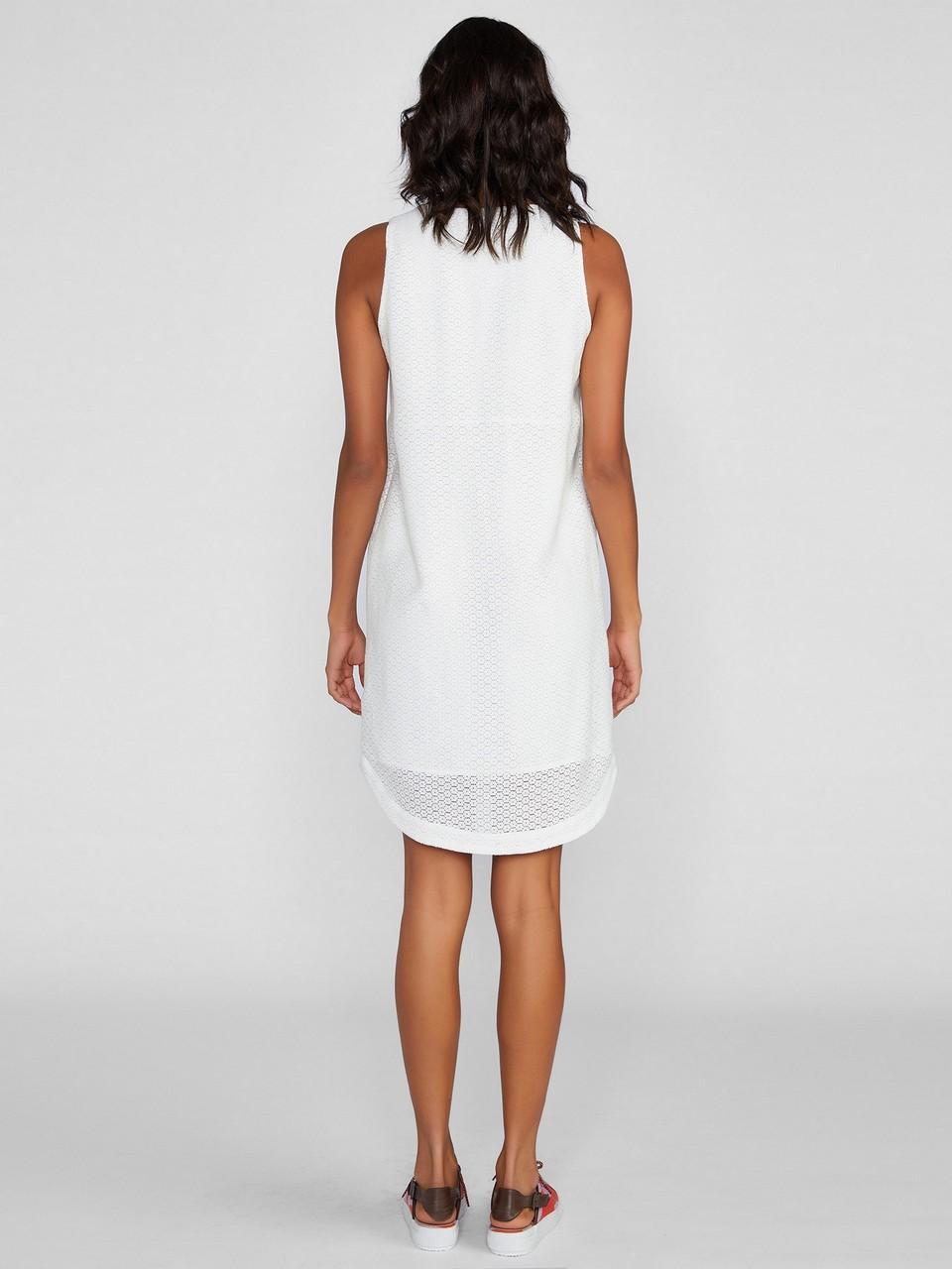 Sıfır Yaka Rahat Kesim Elbise