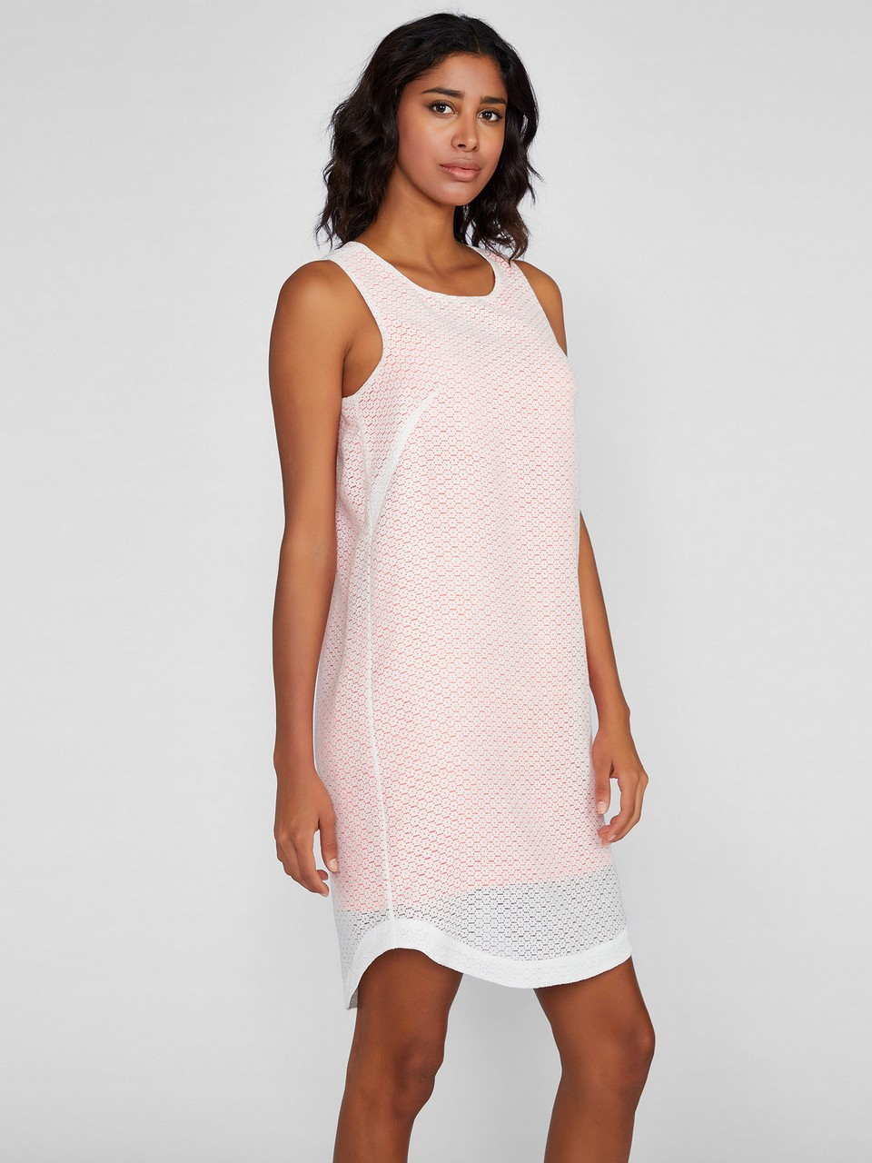 Round Neck Comfort Fit Dress