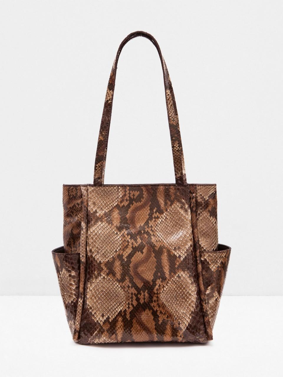 Genuine Python Leather Bag