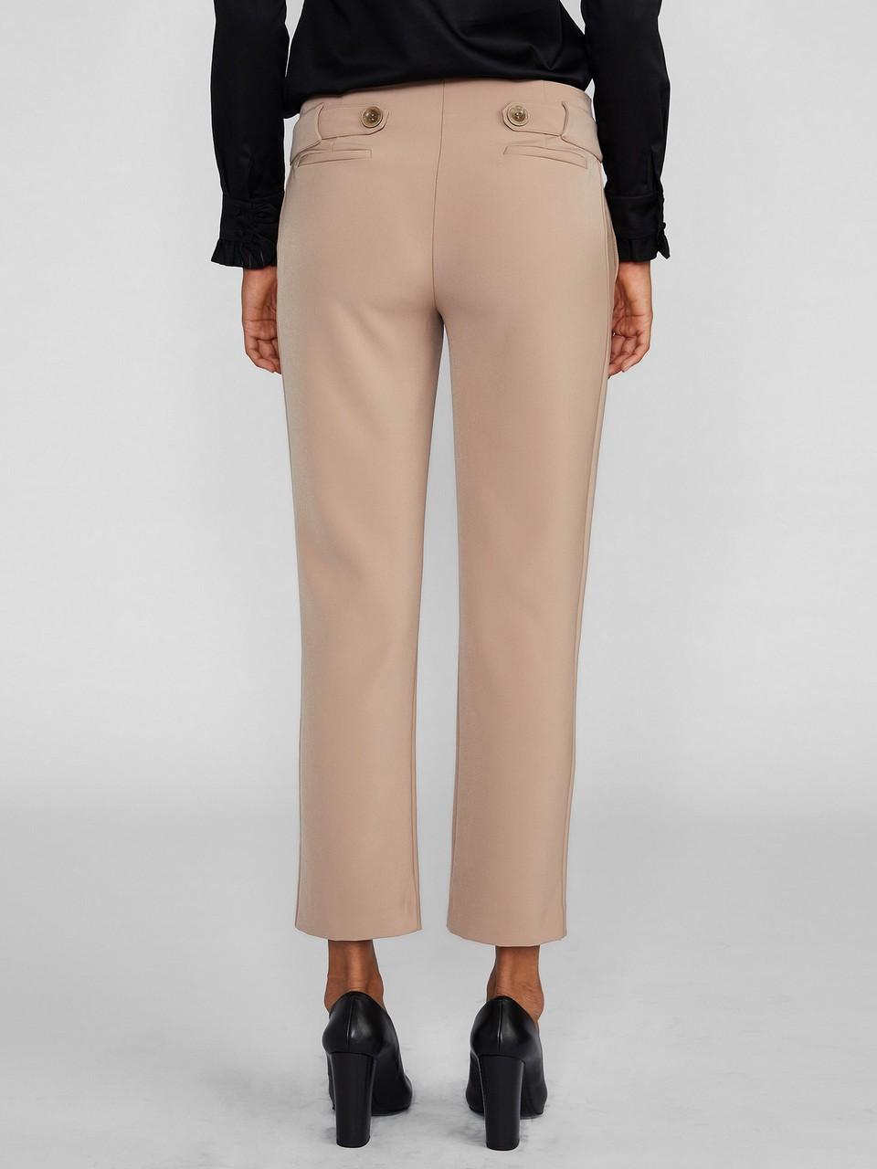 Kemer Detaylı Klasik Kesim Pantolon
