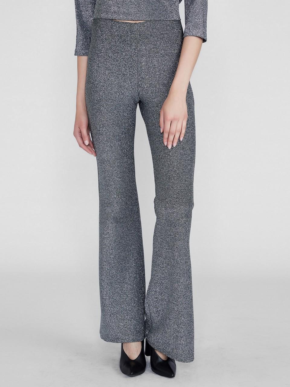 Geniş Paça Beli Lastikli Rahat Kesim Pantolon