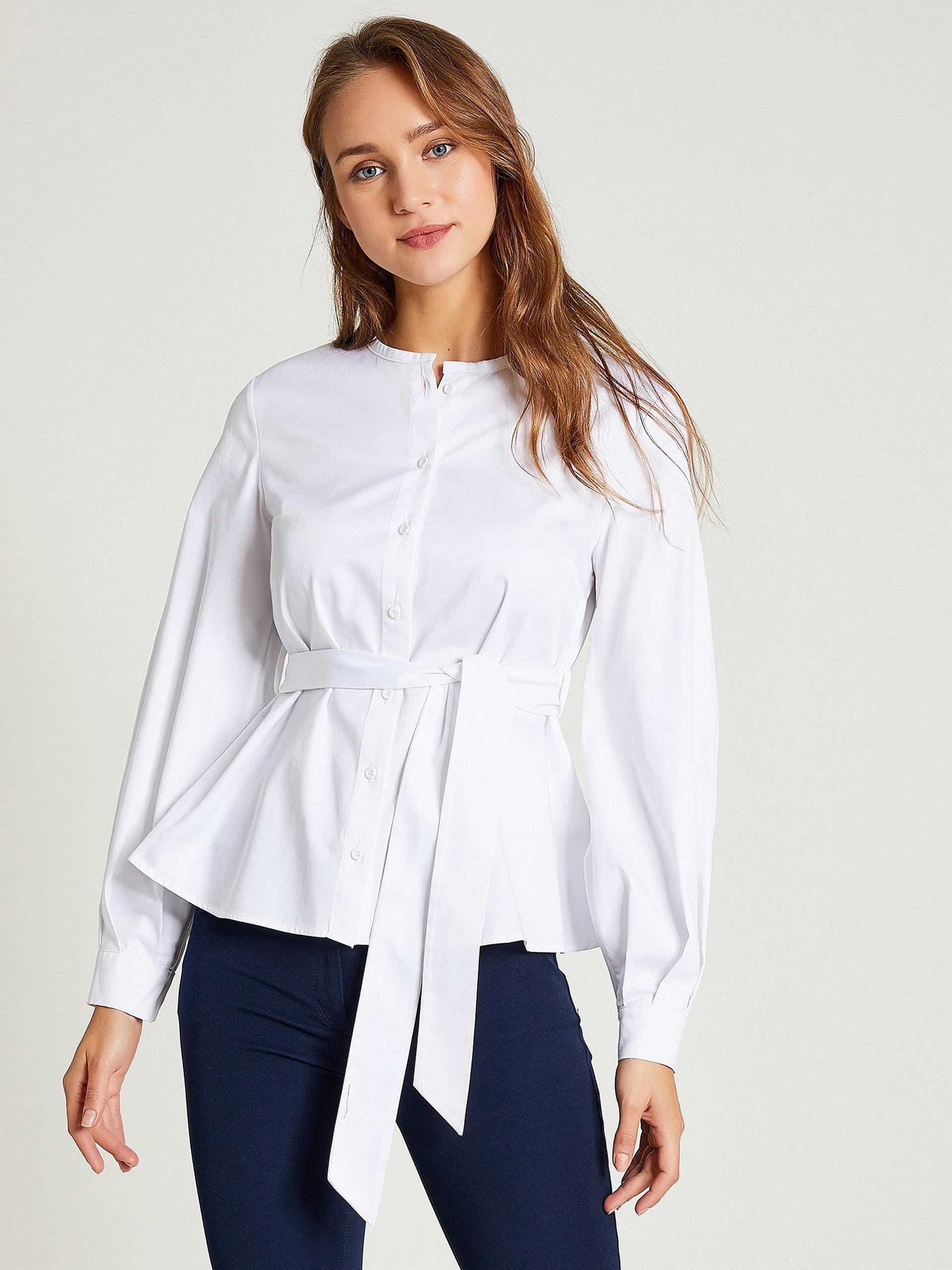 Round Neck 100% Cotton Shirt