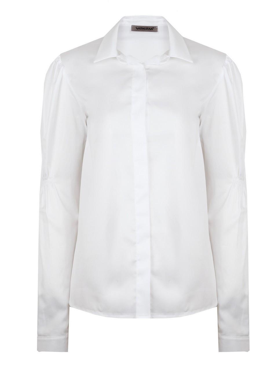 Plikaşe Detaylı %100 Pamuk Gömlek