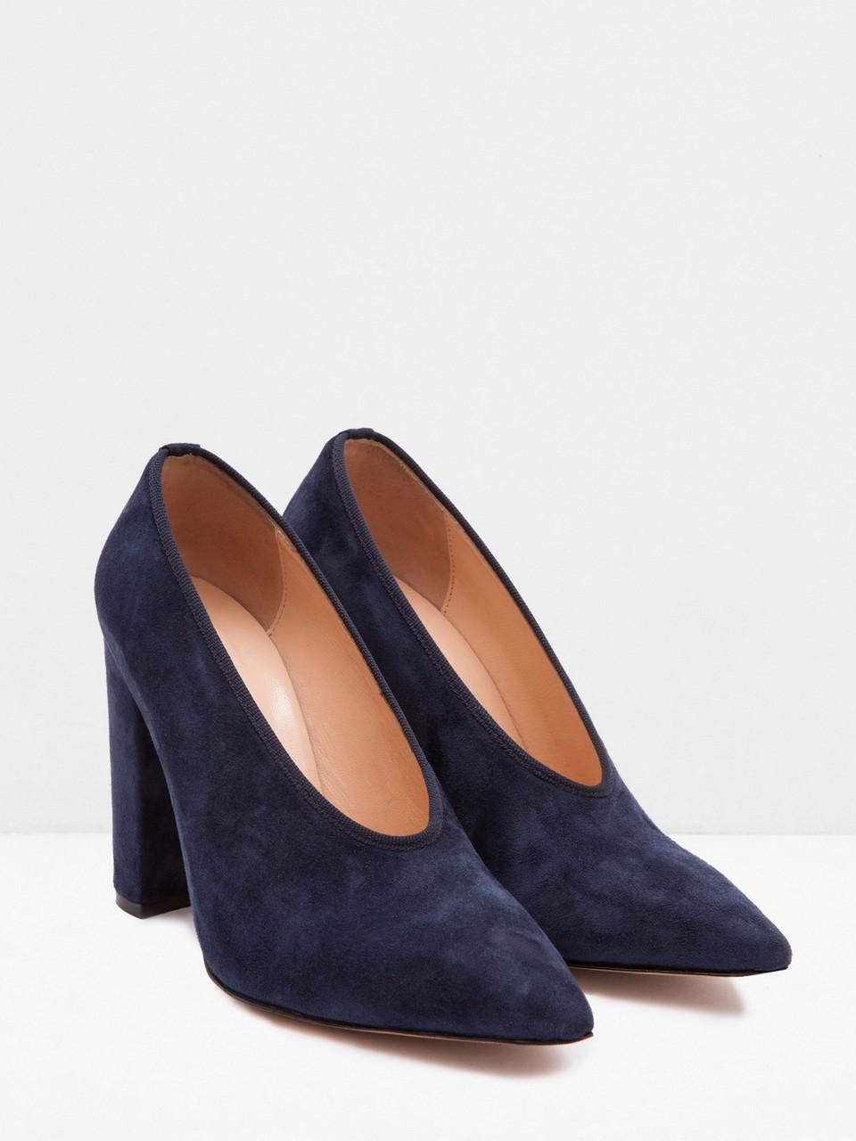 Kadife Topuklu Ayakkabı