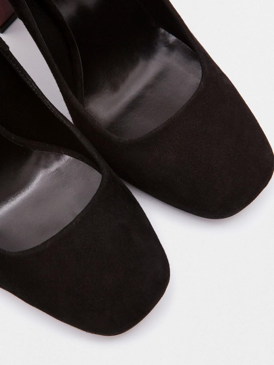 Yüksek Topuklu Süet Ayakkabı