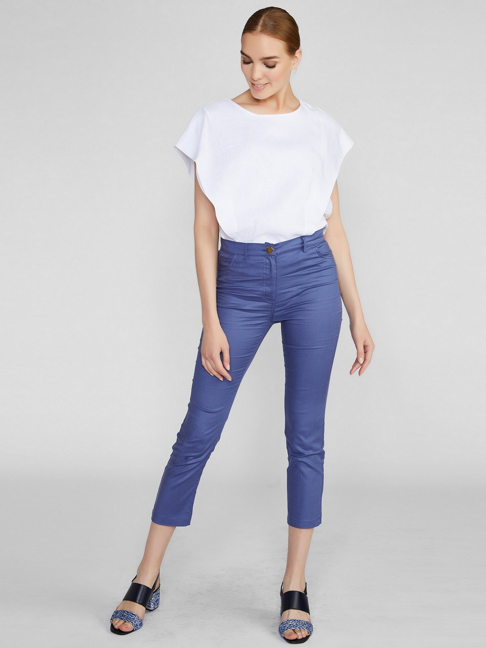 Five Pocket Tencel Trousers