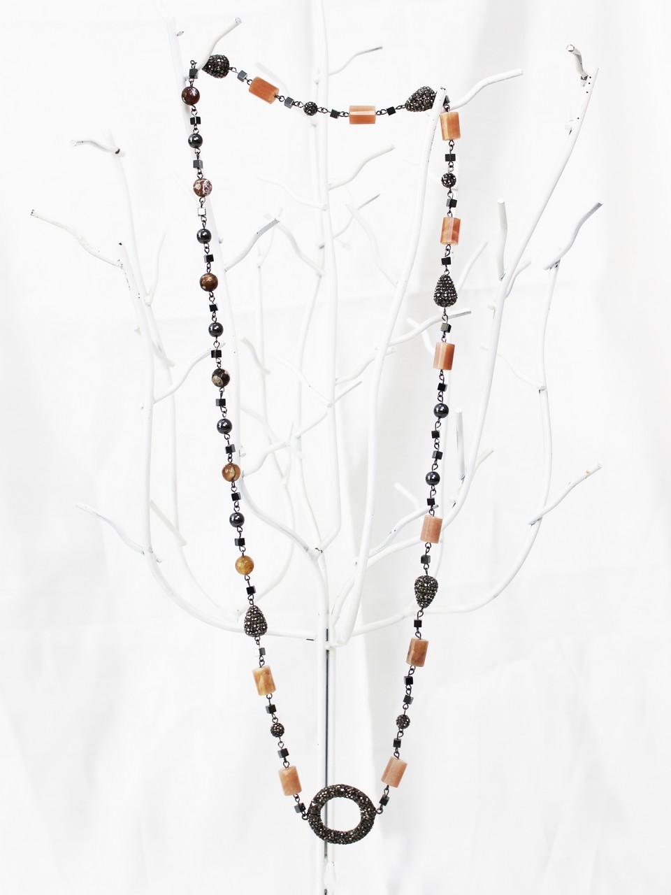 Aquamarin Stone Necklace