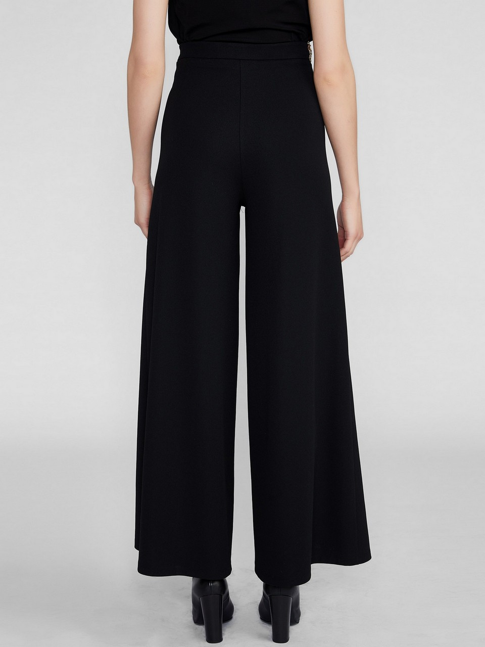 Sequined Detailed Wide Leg Trousers
