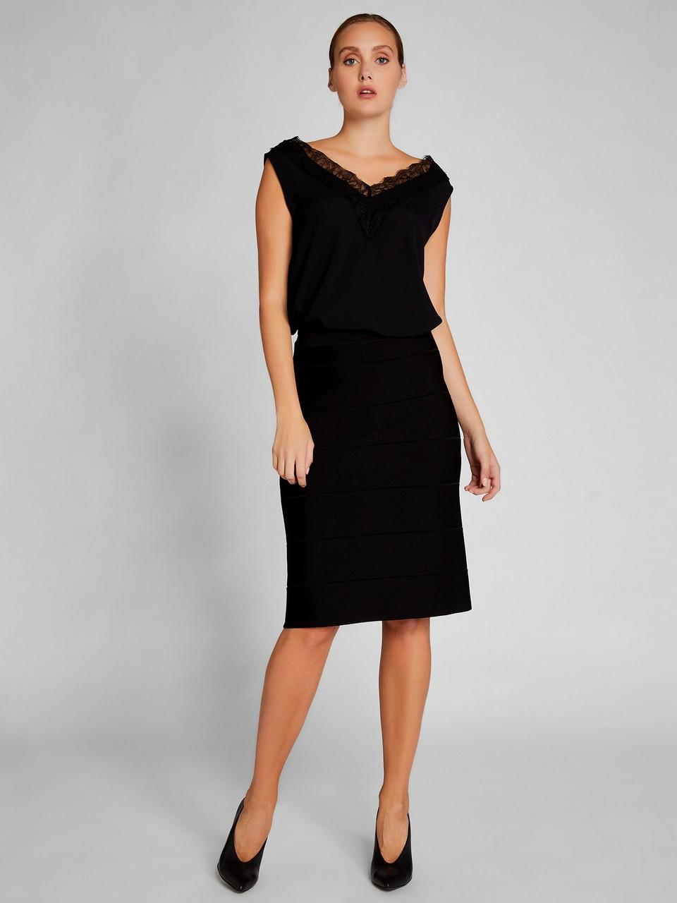 Midi Knitwear Skirt