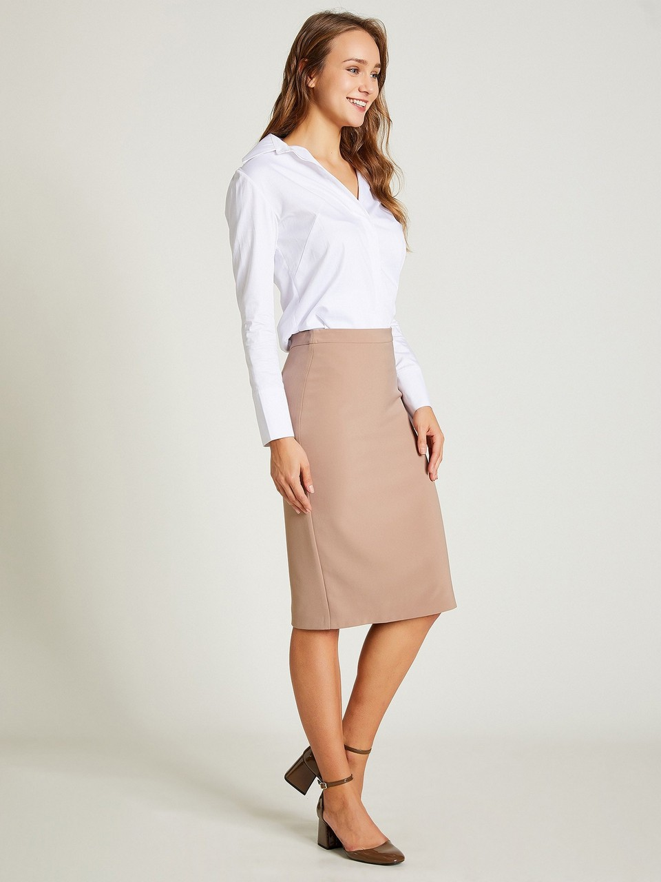 Knee Size Pencil Skirt