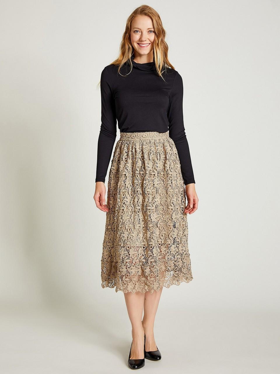 Lacy Bell Shape Skirt