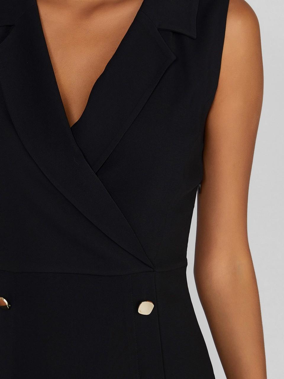 Kolsuz Krep Elbise