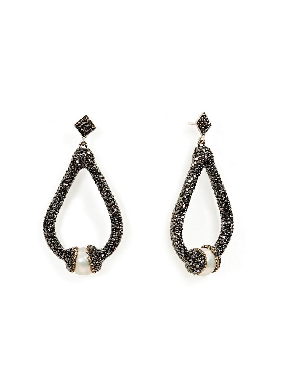 Drop Shaped Stone Earring