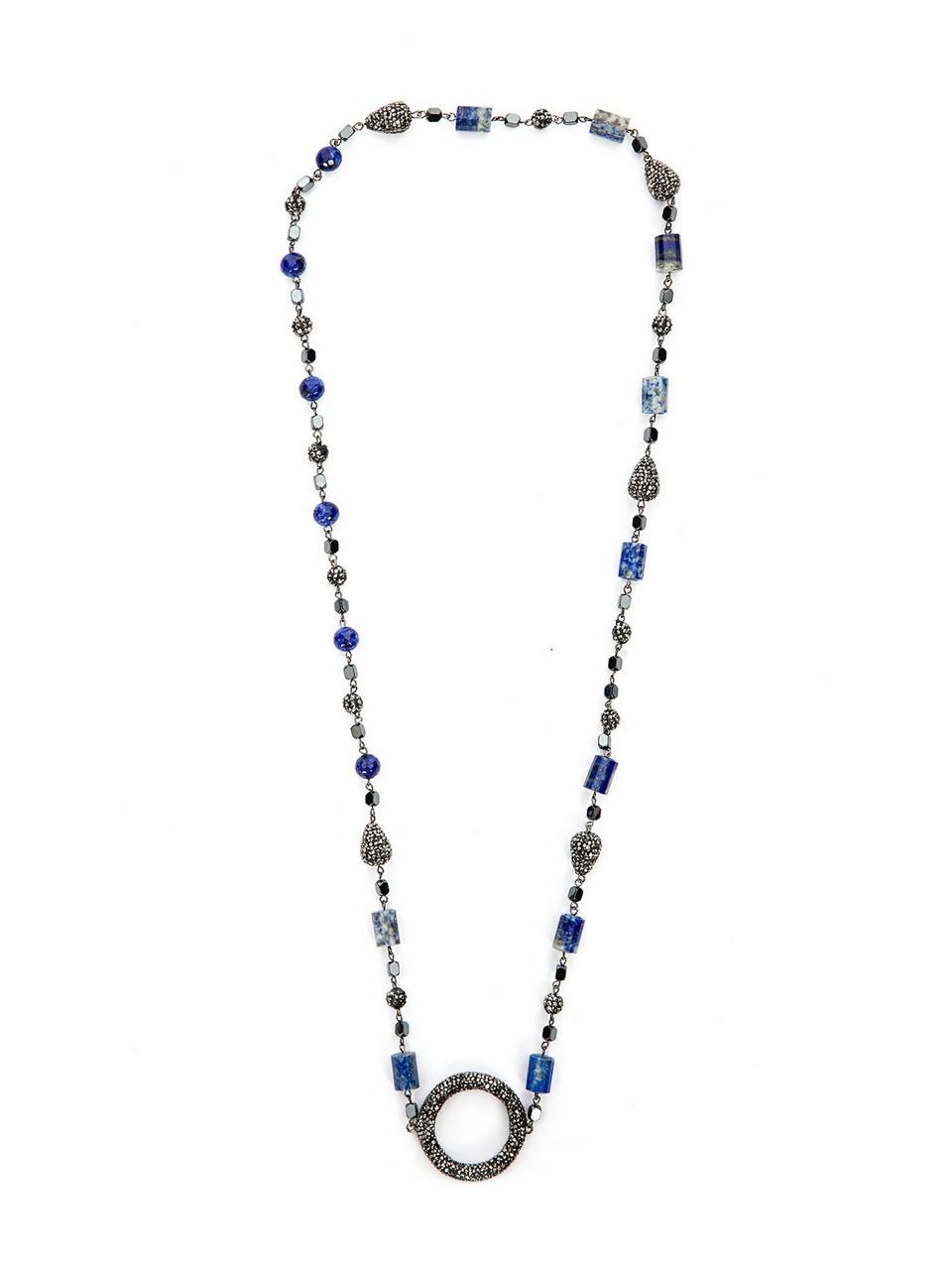 Aquamarine Taş Kolye