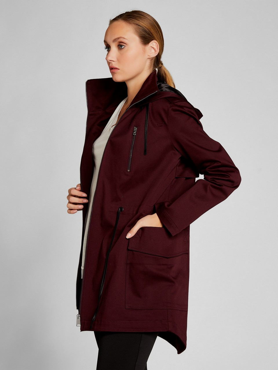 Hooded Trenchcoat