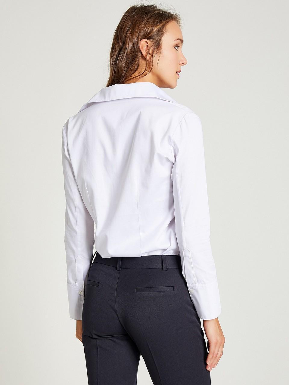 Hidden Buttoned Classic Cut Shirt