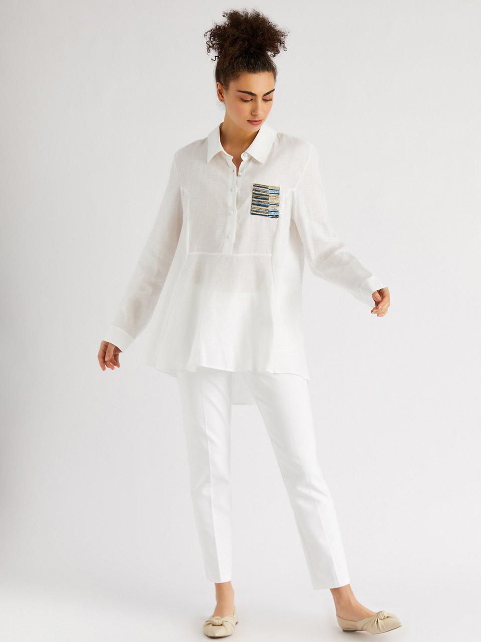 Taş işlemeli Gömlek