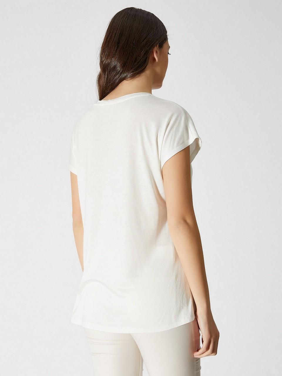 Sıfır Yaka Japone Kol Bluz