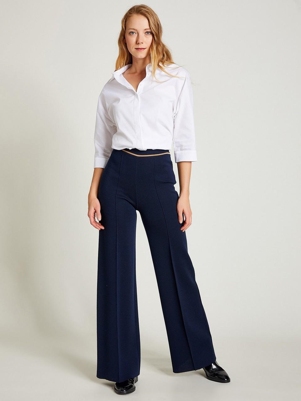 Fine Merino Knitwear Trousers