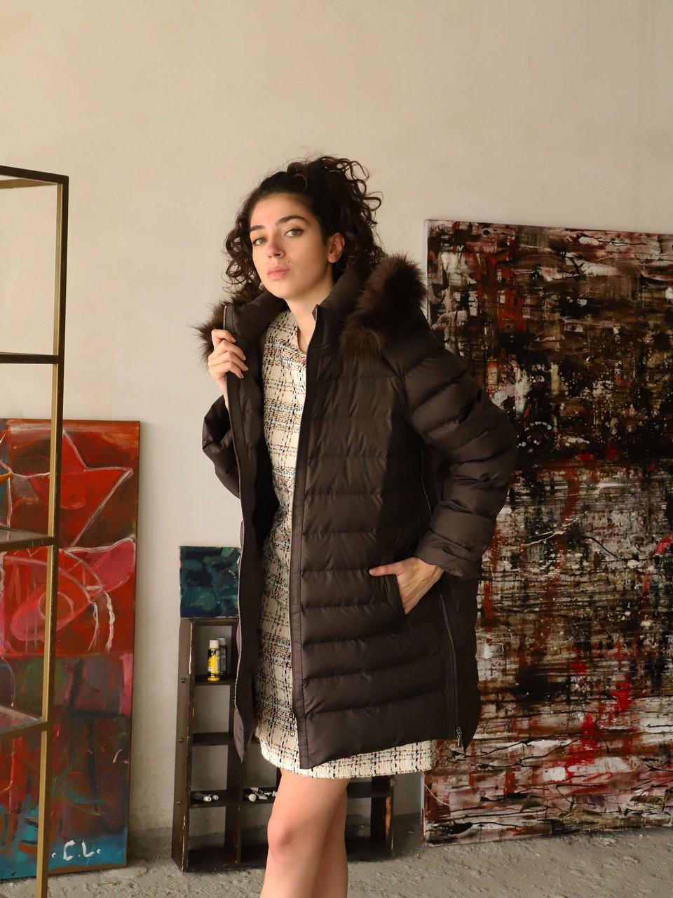 Fur Collar Puffer Coat