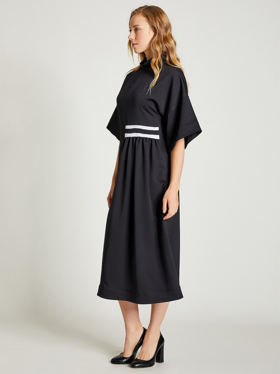 Turtleneck Loose Fit Dress