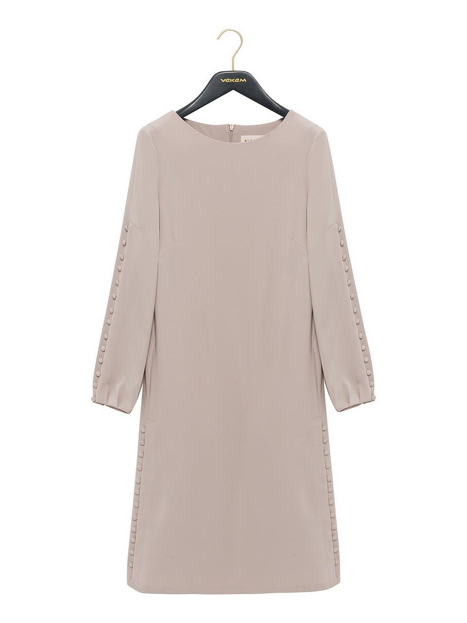 Loose Fit Crepe Dress