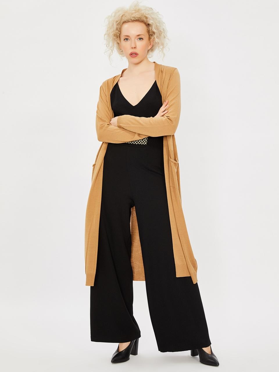 Maxi Knitwear Cardigan